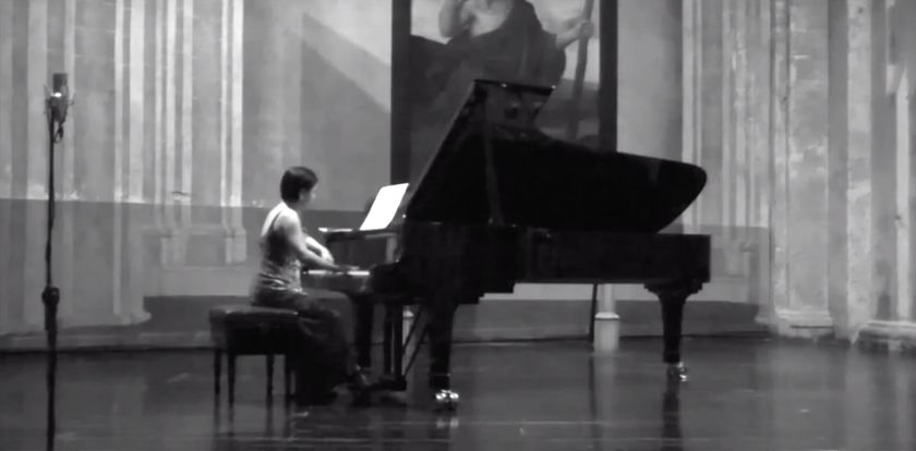Performance of Brahms Intermezzos and Rhapsodie, in Havana