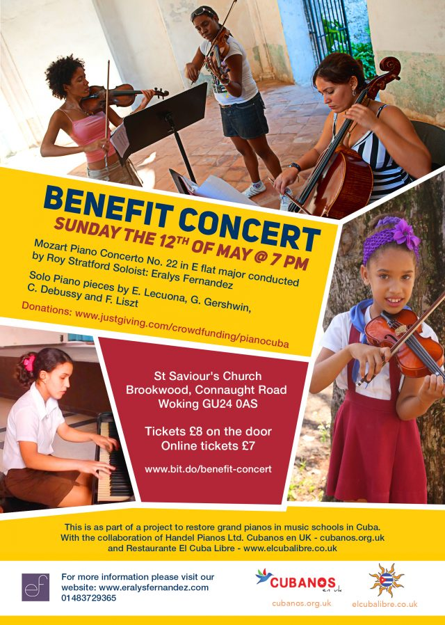 Benefit Concert on the 12th May