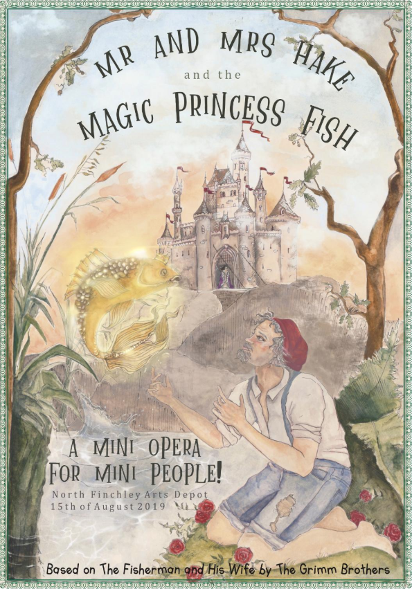 Mr and Mrs Hake and the Magic Princess Fish